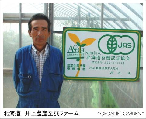 有機野菜生産者:井上農産至誠ファーム