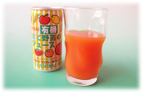 有機果実と野菜のジュース 190g